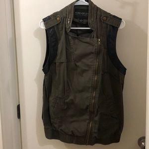 Forever 21 Jackets & Coats - Forever 21 Utility Vest